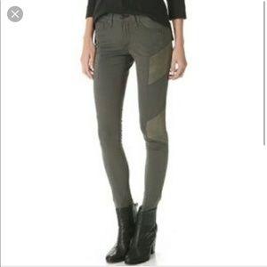 Rag & Bone Army Green Jeans